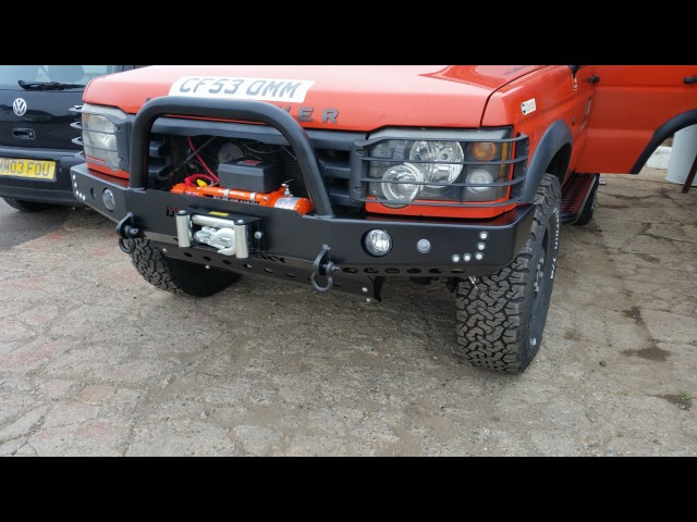 DISCOVERY 1 DELUXE MK2 WINCH BUMPER (Product No: 148)