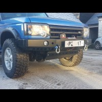 DISCOVERY 2 DELUXE WINCH BUMPER (Product No: 140)