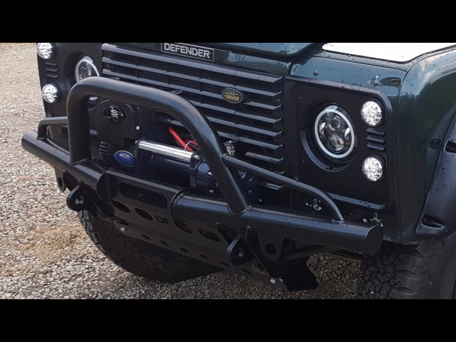 DEFENDER WINCH BUMPER CLOSE FIT (Product No: 73)