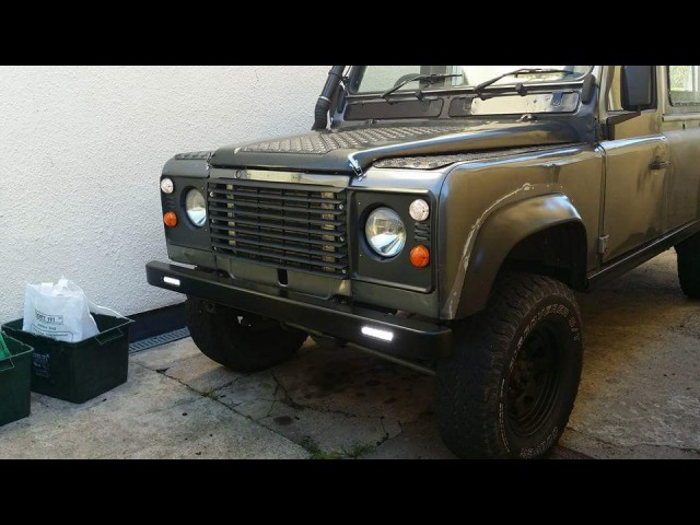 DEFENDER HD 6MM BUMPER WITH LED'S (Product No: 71)