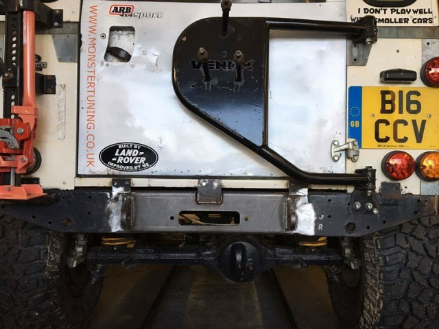 WELD IN REAR WINCH TRAY