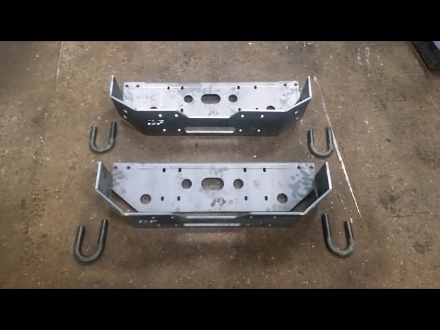 1X DIY WELD YOUR SELF UNIVERSAL WINCH TRAY 8MM (Product No: 151)